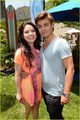 Maia Mitchell & Grace Phipps: EGPAF A Time For Heroes 2013  - garrett-clayton photo