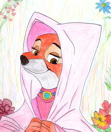 Walt Disney's Robin Hood wallpaper entitled Maid Marian