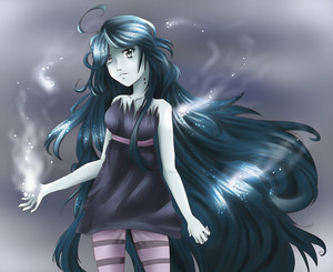 Marceline, The Vampire reyna