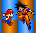 Mario vs Goku - mario-and-goku photo