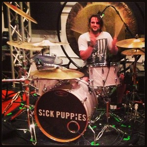 Mark and drums