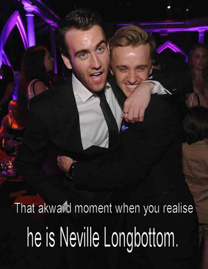 Matthew Lewis and Tom Felton :3