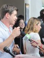 Matthew at the ATX festival - matthew-lawrence photo