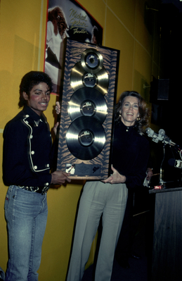Michael And Actress, Jane Fonda