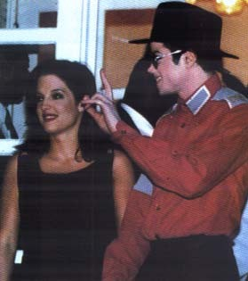 Michael And Lisa Marie In Bucharest Back In 1994