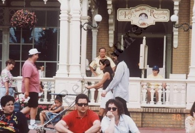 Michael And Lisa Marie In Disneyworld Back In 1994