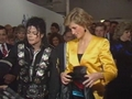 Michael Backstage With Princess Diana Back In 1988 - michael-jackson photo
