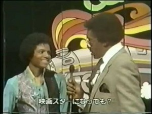 "Michael Being Interview door ""Soul Train"" Host, Don Cornelius, Back In 1979"