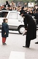 Michael Talking With A Young Fan - michael-jackson photo