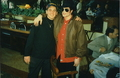 Michael With A Fan - michael-jackson photo