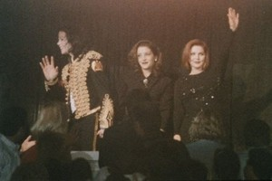 Michael With First Wife, Lisa Marie Presley And Her Mother Back In 1994