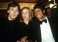 Michael With The McCartneys - michael-jackson photo