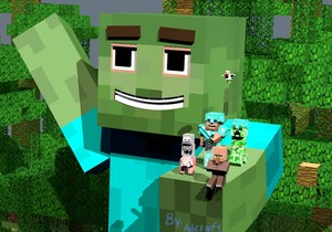 Minecraft and giant