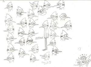 Mordecai Emoticons