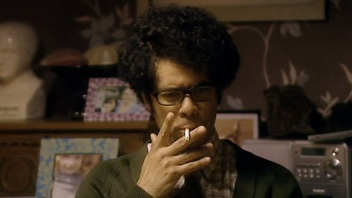 The IT Crowd achtergrond entitled Moss smoking