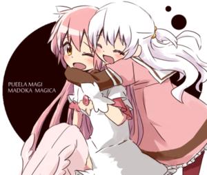 Nagisa Momoe and Madokami