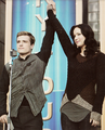 New 'Catching Fire' movie still - peeta-mellark-and-katniss-everdeen photo