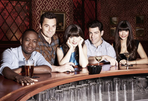 New Girl - Season 3 - Cast Promotional चित्रो
