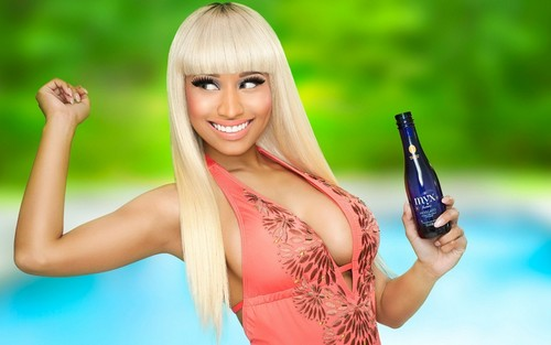 Nicki Minaj wallpaper probably containing a portrait called Nicki Minaj
