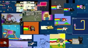 Nyan. Nyan everywhere!
