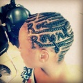 OMG LMBO This Girl Hair Is Ratchet With A Capital R. But Hey She Showing Her Love For Roc Royal.👌 - mindless-behavior photo