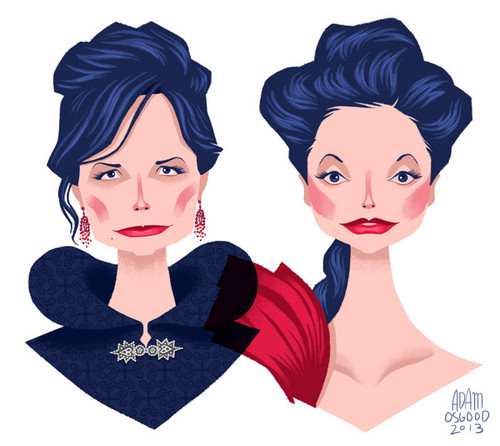 once upon a time wallpaper entitled OUAT Animated Characters