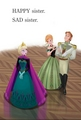 Official ফ্রোজেন Illustration - Anna, Elsa and Hans