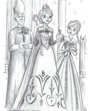 Official 겨울왕국 Illustrations