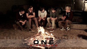 One Direction kertas dinding .