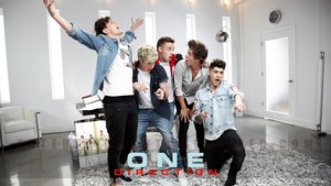 One Direction wallpaper .