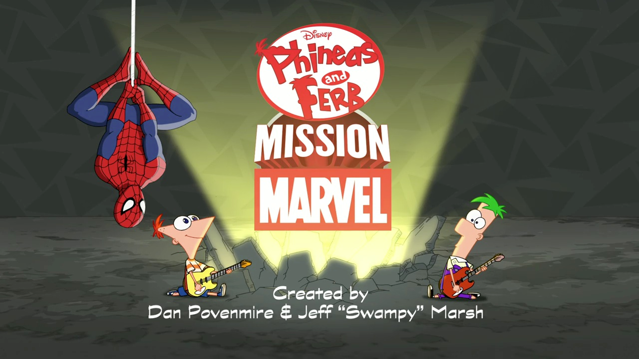 Phineas and ferb mission marvel pfmm