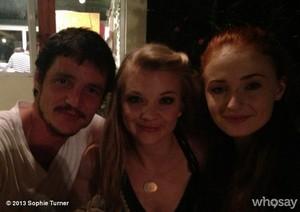 Pedro Pascal, Sophie Turner & Natalie Dormer