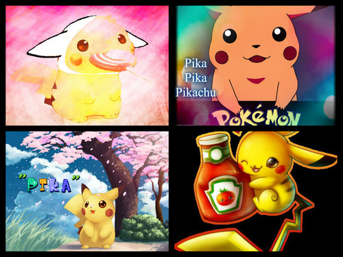 Pikachu wallpaper possibly containing anime called Pikachu chibi
