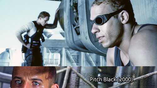 Фильмы Обои probably with a sign called Pitch Black 2000