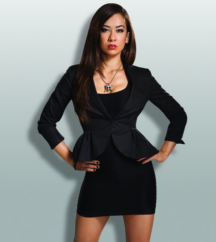 AJ Lee wallpaper possibly containing a cocktail dress, a chemise, and a chemise called Pretty Evil Things