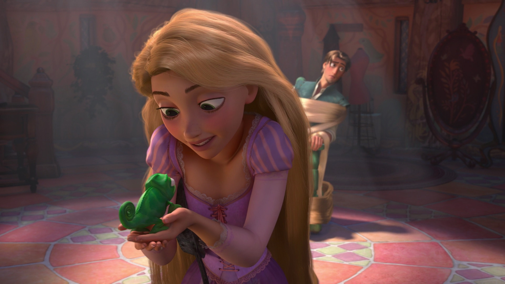meet rapunzel and flynn rider from tangled