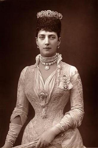 rois et reines fond d'écran called Queen Alexandra (Alix) of Denmark