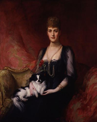 re e regine wallpaper titled Queen Alexandra (Alix) of Denmark