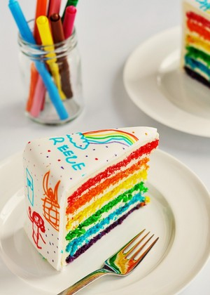 彩虹 Cake
