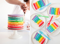 Rainbow Cake - rainbows photo