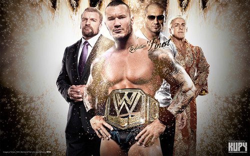 WWE wallpaper entitled Randy Orton - WWE Champion