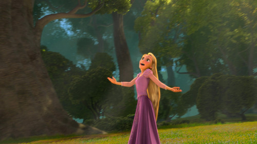 Disney's Rapunzel wallpaper titled Rapunzel - Now's When My Life Begin