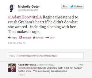 Regina did NOT rape Graham?