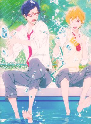 Rei and Nagisa