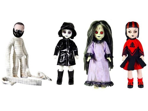 Living Dead Dolls karatasi la kupamba ukuta called Resurrection Series 1
