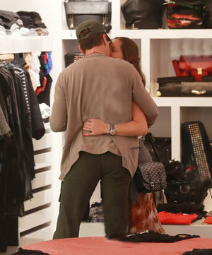 Robert Downey Jr. and wife Susan shopping at a OTTE in New York 8/31/2013