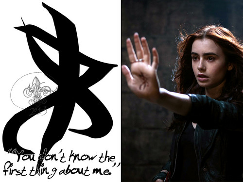 Shadowhunters wallpaper titled Rune