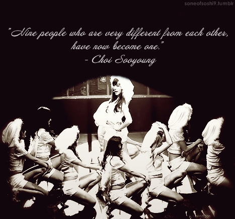 Girls Generation/SNSD wallpaper titled SNSD Quotes