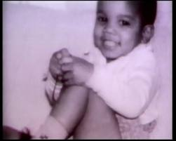 Michael Jackson Hintergrund possibly with a neonate, skin, and a portrait entitled SWEET BABY MJ