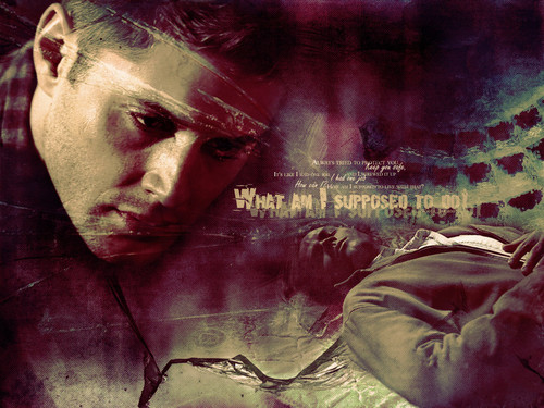 Wincest wallpaper containing anime titled Sam/Dean